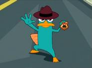 Perry spy badge