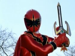 Red mystic force ranger
