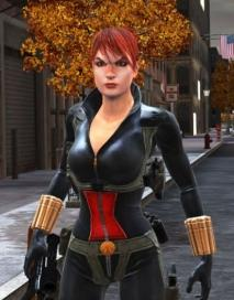 Black Widow from Web of Shadows