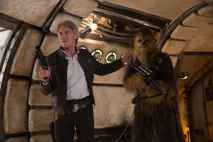 Chewbacca and solo