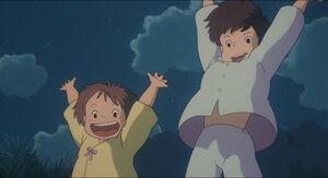 Mei and Satsuke (2)