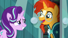 Starlight reuniting with Sunburst S6E1