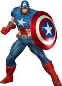 Captain America in Marvel vs Capcom Infinite
