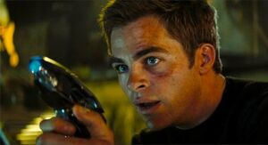 James T. Kirk- Gunman