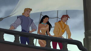 John Smith, Pocahontas and John Rolfe Won!!
