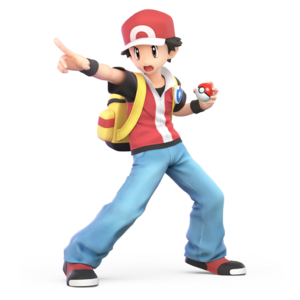 Pokemon Trainer (Red) SSBU
