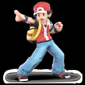 Pokemon Trainer (Red) SSBU