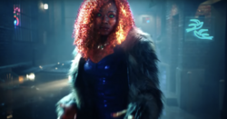 Starfire in live action form