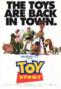 Toy Story 1 Poster 1 - Andy's Toys