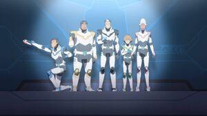 VLD - Lance, Hunk, Shiro, PIdge and Allura