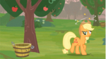 Applejack in MLP FIM Wrong Apple Tree