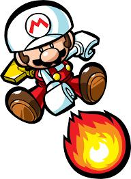 Fire mini mario