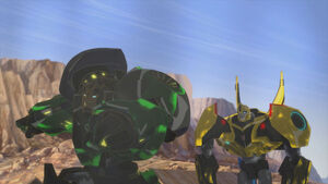 Grimlock and Bumblebee are just black.