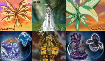 Six Ancient Warriors