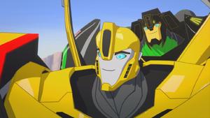 Grimlock with Bumblebee