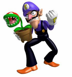 MP3 Waluigi Storm Chasers Artwork