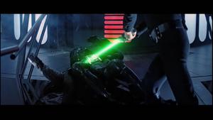 Vader groans