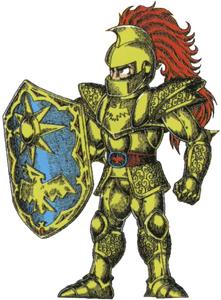 Full gold armor
