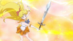 Sailor moon crystal act 27 sailor venus chain wink sword