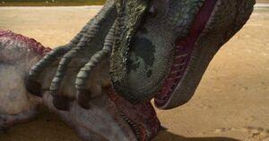 Speckles Carnotaurus