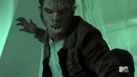 Teen Wolf Season 4 Episode 10 Monstrous Scott full face change