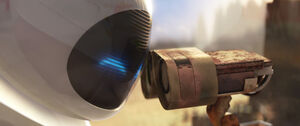 Wall-e & Eve's kiss