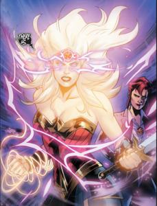 Wonder Woman magic mode.
