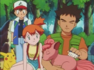 Brock and Vulpix