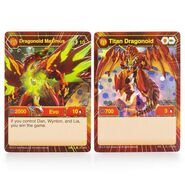 Dragonoid Maximus Character Cards