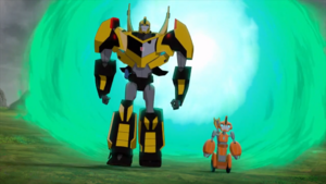 Fixit and Bumblebee are now in England