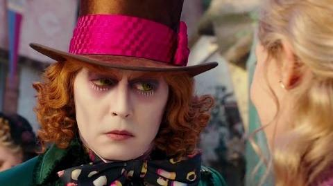 ALICE THROUGH THE LOOKING GLASS Movie Clip - Meeting Young Hatter (2016) Johnny Depp HD