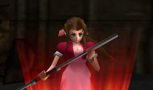 Aerith in game