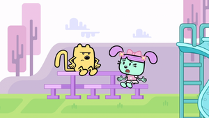 Daizy with Angry Wubbzy