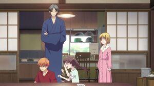 Kyo, Shigure, Tohru & Kisa
