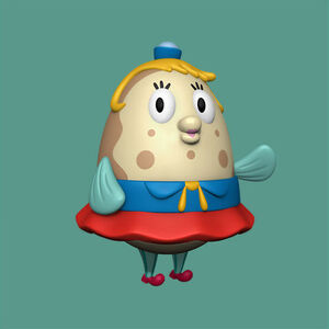 SpongeBob SquarePants - CGI Mrs. Puff