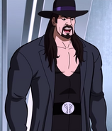The Undertaker meets Scooby-Doo and Shaggy Rogers