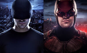 Daredevil- Black Suit and Armour
