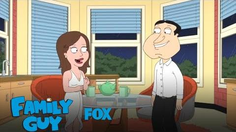 Quagmire Asks Courtney If She'll Move In Season 17 Ep