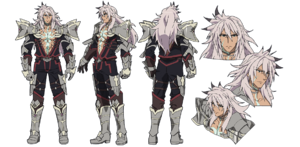 Siegfried character sheet