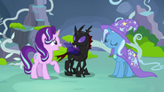 Starlight makes a connection with Pharynx S7E17