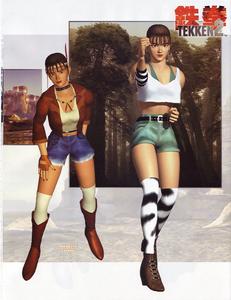 Tekken2 Michelle Outfit Art