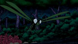 Beast Boy as Dragonfly