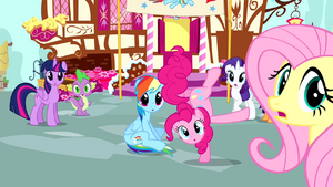 Mane 6 notice Cheese Sandwich