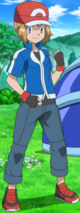 Serena as Ash