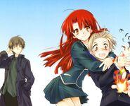 Kazuma, Ayano and Ren