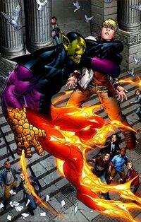 Kl'rt the Super-Skrull