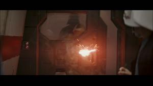 Vader impaling