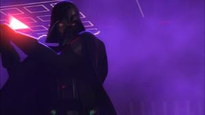 Darth Vader surly