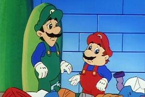 Luigi cartoon 8