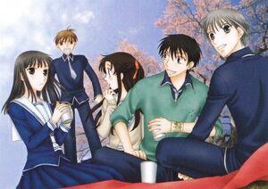 Machi, Naohito, Kimi, Kakeru and Yuki